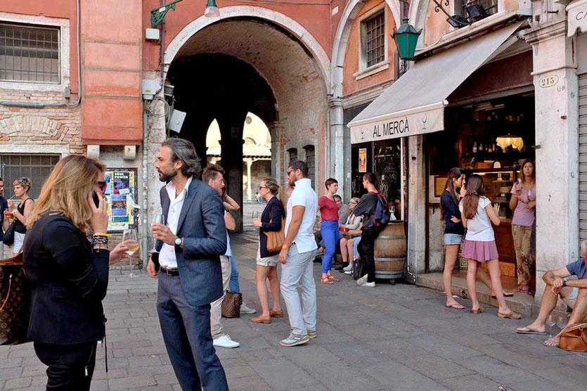 Bar Al Merca Pieazza Venedig, Venice