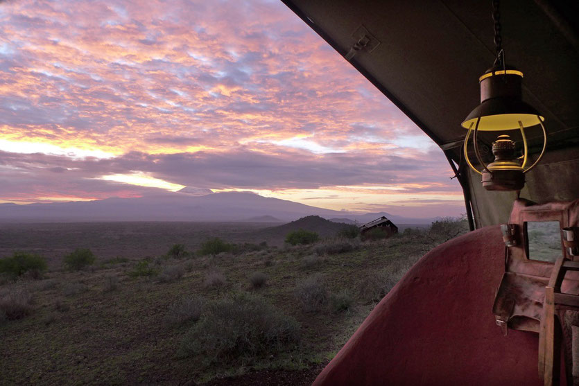 Shu'mata Camp am Kilimanjaro Tansania shumata camp tanzania
