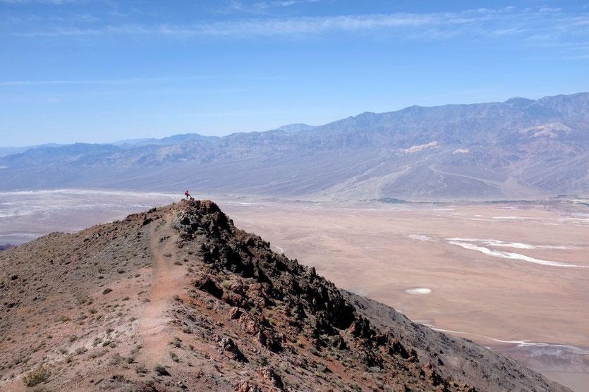 Blick ins Death Valley von Dantes View