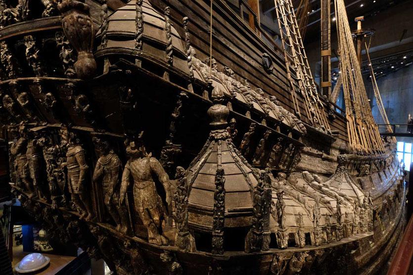 Schlachtschiff Vasa Museum Stockholm