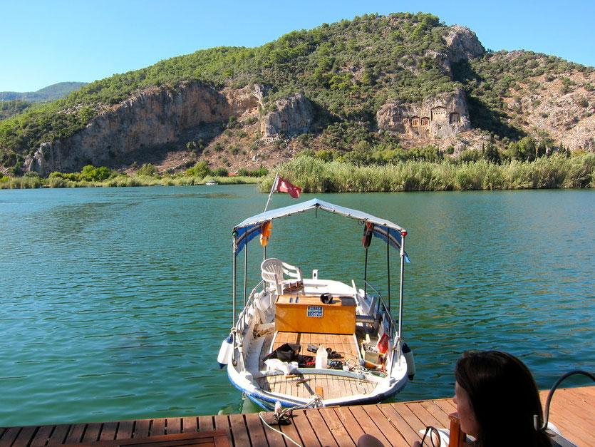 Dalyan Lagune Delta  Türkei