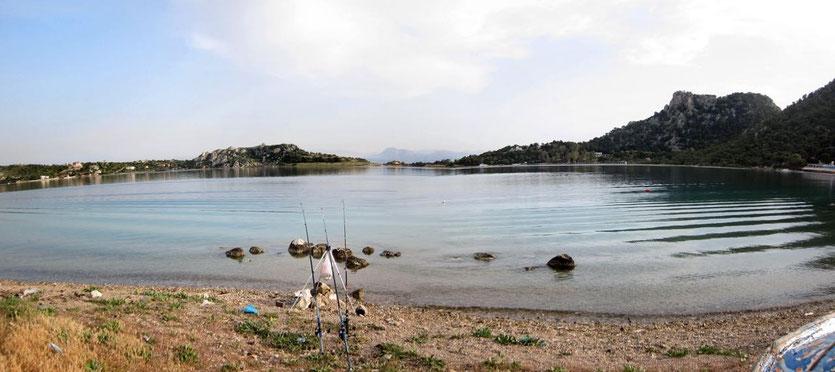 Vouliagmeni-See Griechenland, , Peloponnes
