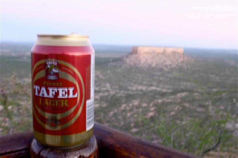 Tafel Bier eines der besten Biere der Welt aus Windhoek Namiba