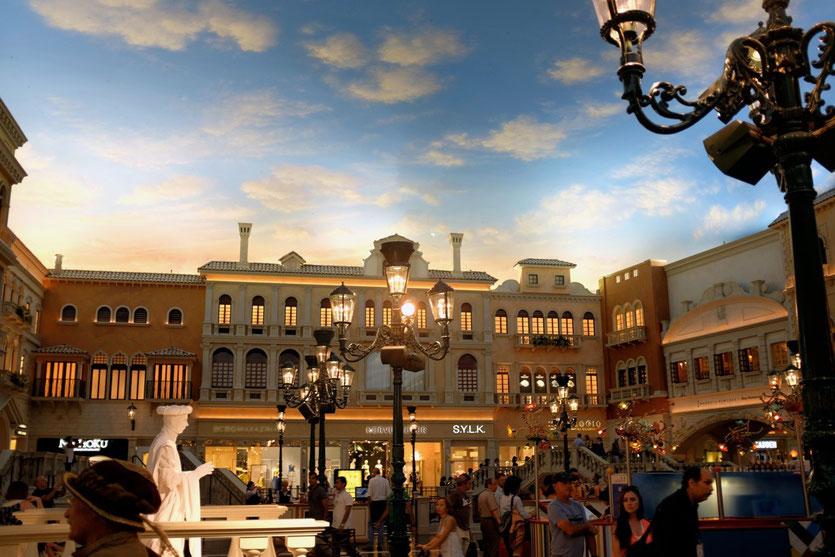 Venedig mit Dachhimmel, Venetian Hotel Las Vegas