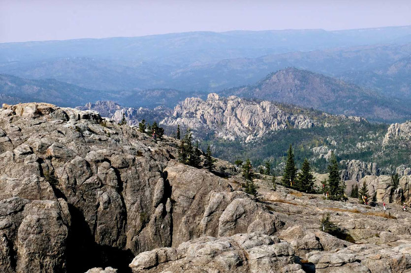 Black Hills Felsformationen South Dakota