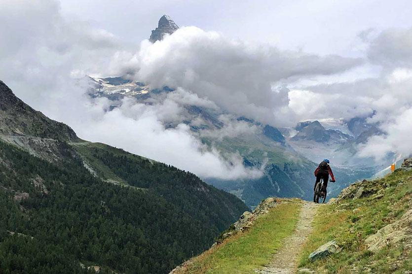 Bikertrail Zermatt