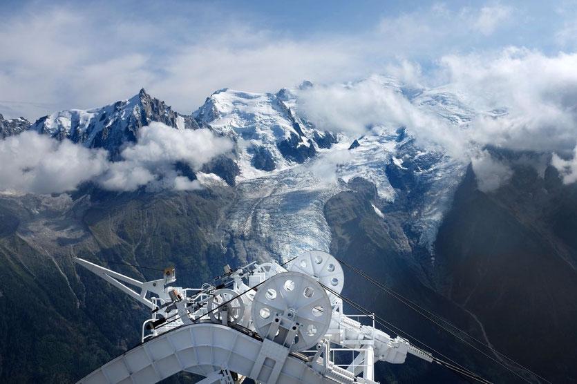 Begastation Brévent Gipfel Chamonix Mont Blanc