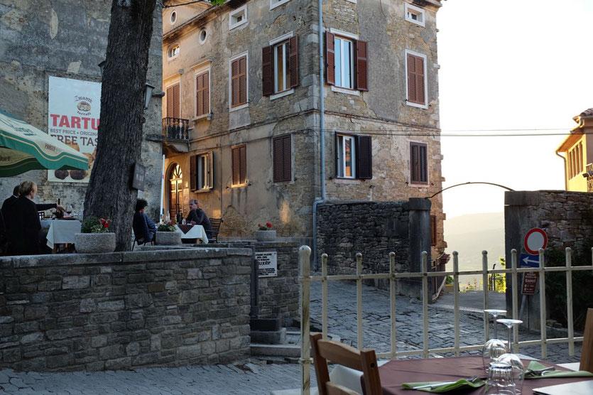 Trüffel Restaurants Tipp Motovun Istrien