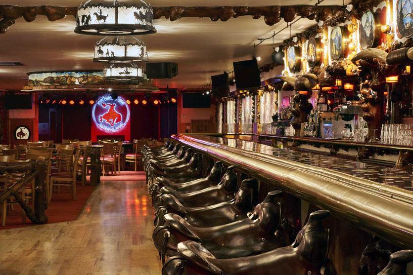 The Million Dollar Cowboy Bar Jackson Wyoming