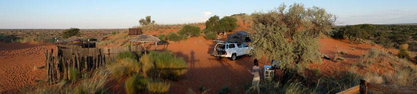 Red Dune Camp, Kalahari Namibia