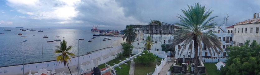 View from Palace Museum Stone Town