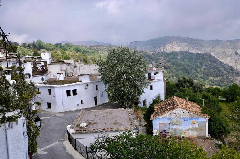 Dorf Atalbéitar in der Alpujarra Andalusien
