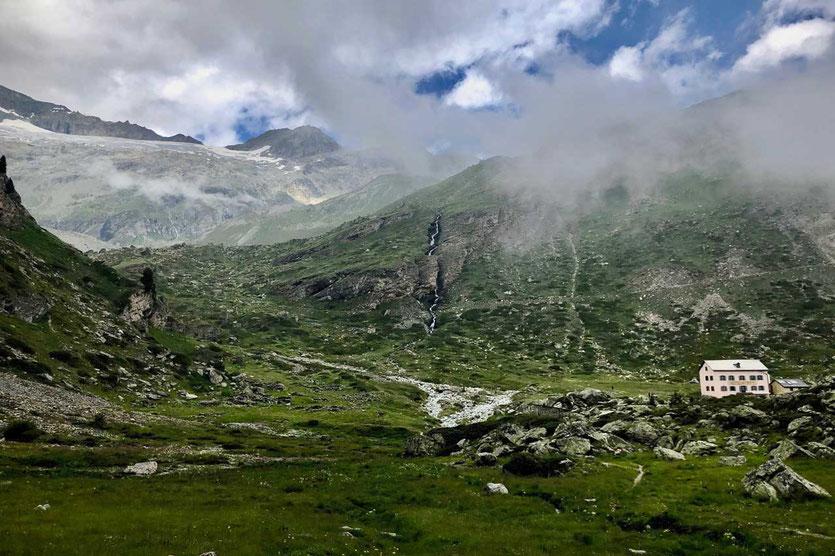 Trift Hütte in Zermatt