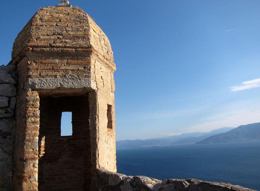 Palamidi Burg in Nafplion, Peloponnes