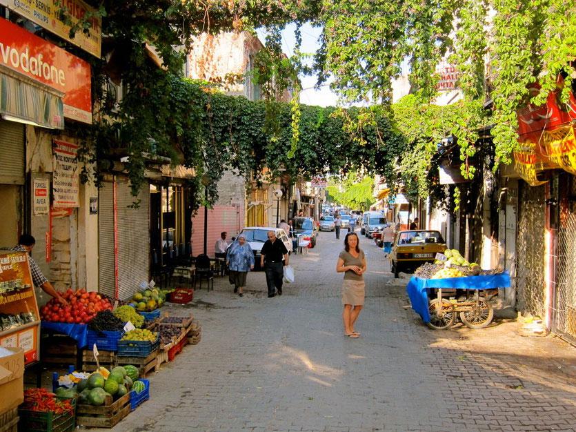 Altstadt von Izmir Türkei Lykische Küste