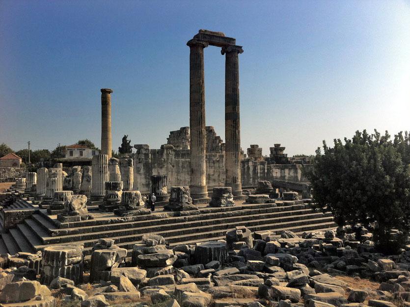 Tempelanlage Orakelstätte Didyma Türkei Lykische Küste Didim