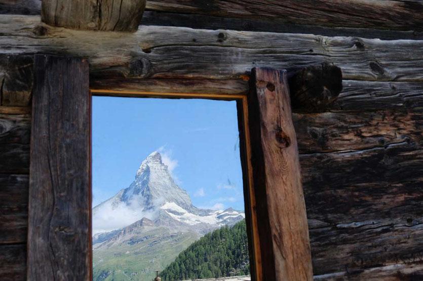 Schweiz Zermatt Matterhorn