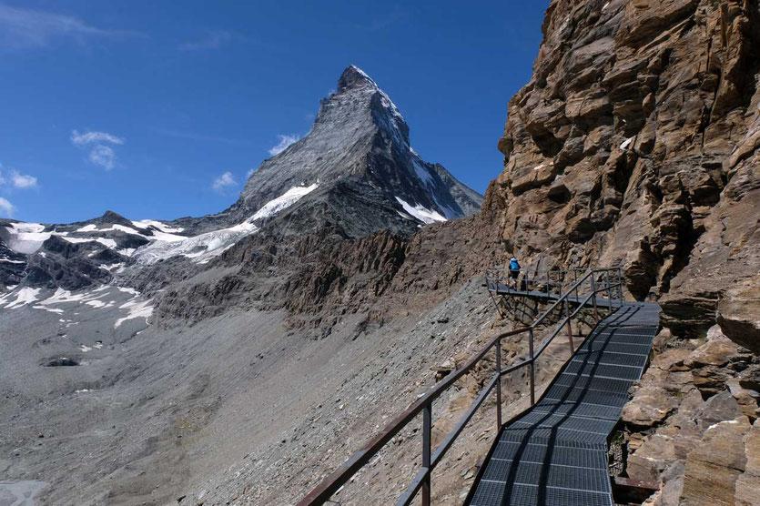Hörnliweg Matterhorn Zermatt, Schweiz