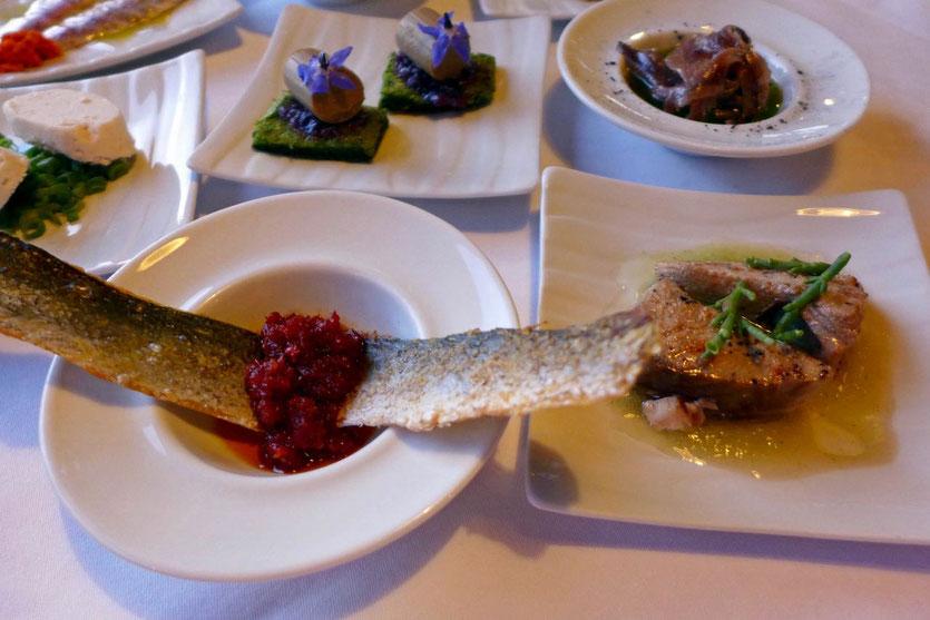 Fische essen Istrien Konoba Batelina bestes Fischrestaurant