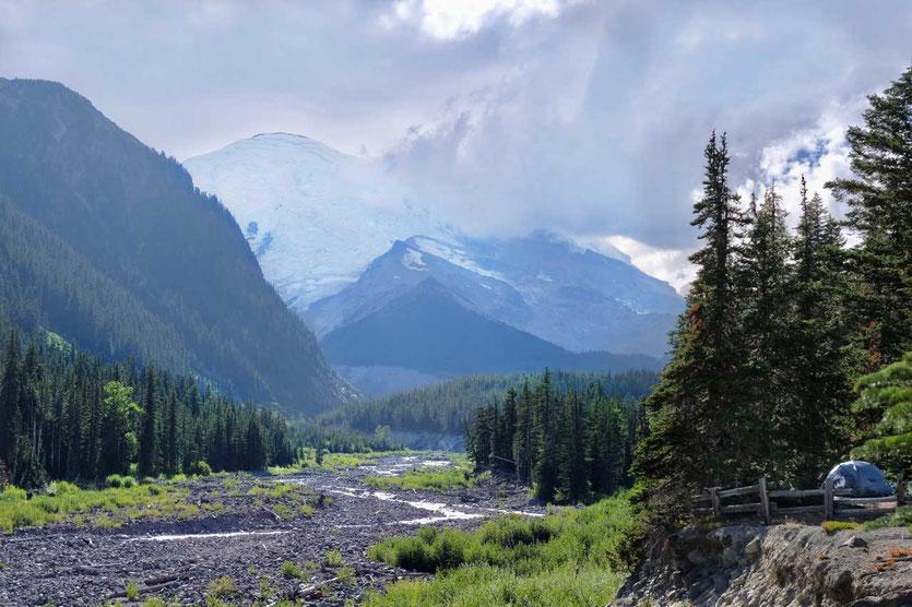 White River Campground - Mt. Rainier National Park