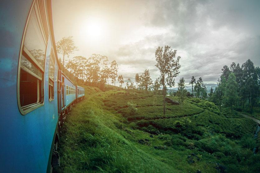 Railway Sri Lanka Bahnstrecke Nuwara Eliya-Kandy