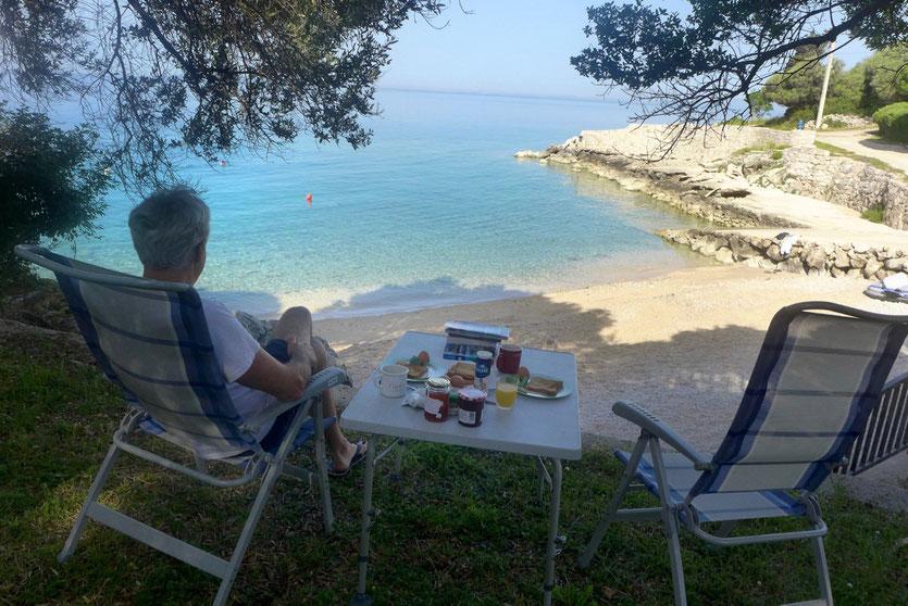 Campingplatz Tipp Insel Pag Kroatien