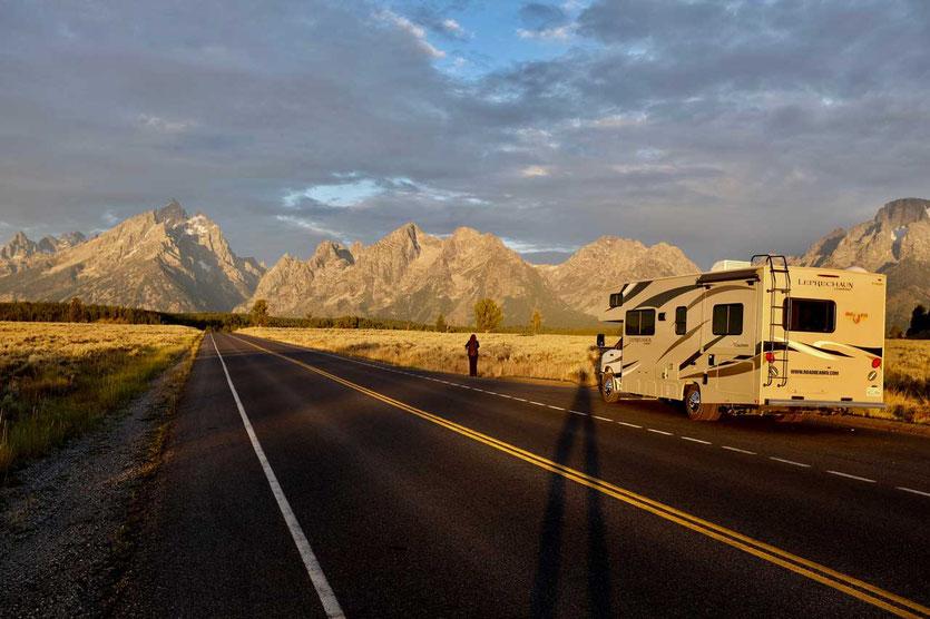 USA Wohnmobilreise Grant Teton NP