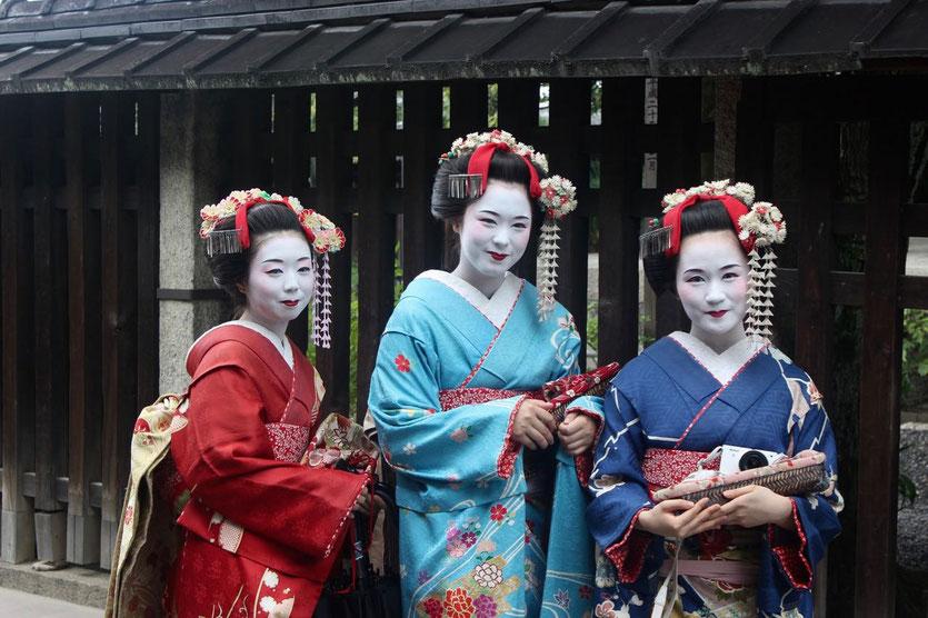 Tipp Kyoto Geishas Geiko Gion Viertel