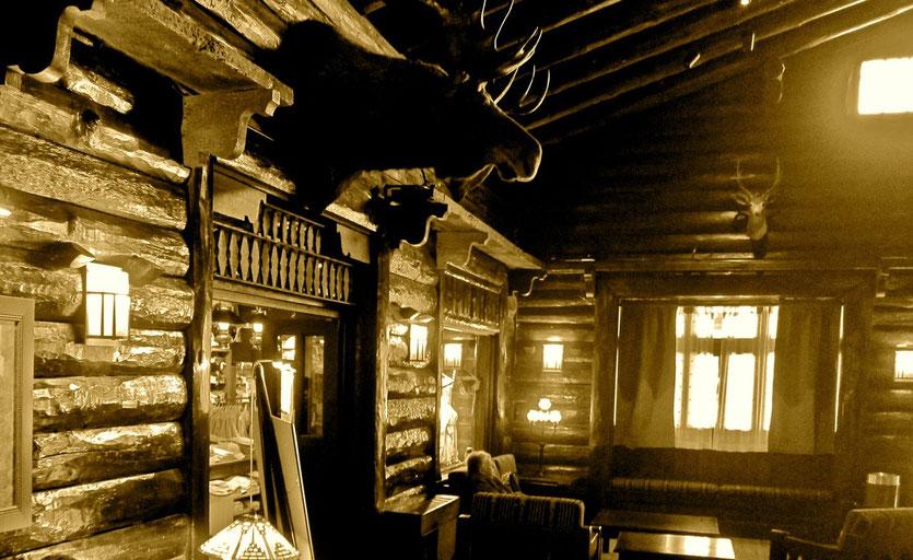 Lobby Lounge El Tovar Hotel Grand Canyon