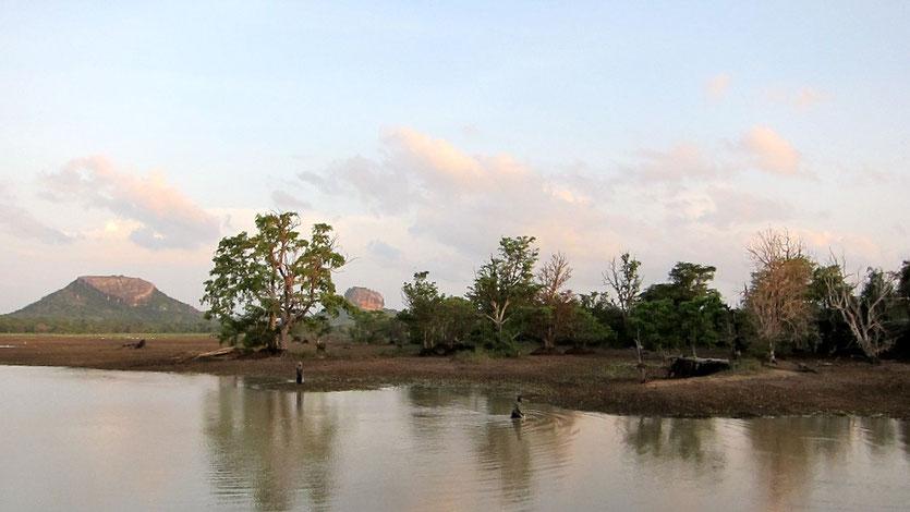 Halmilla Wewa, Sigiriya, Sri Lanka