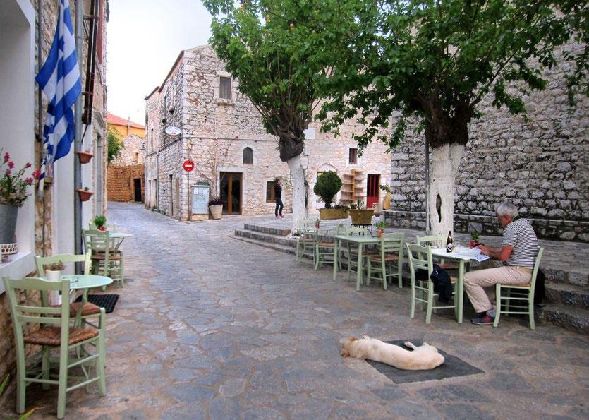 Restaurant Tipp Areopolis Lithostroto, Mani Peloponnes