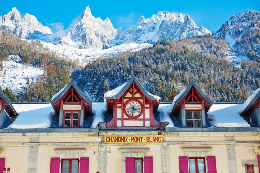 Bahnhof von Chamonix