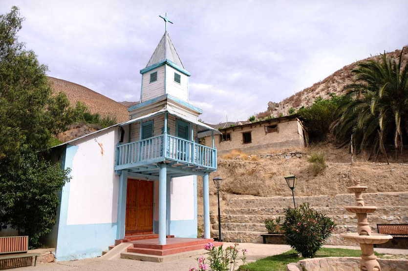 Kirche von Horcón valle del elqui