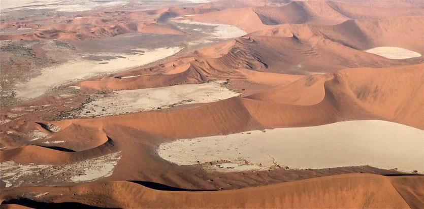 Sossusvlei Scenic Flight Swakopmund Namibia