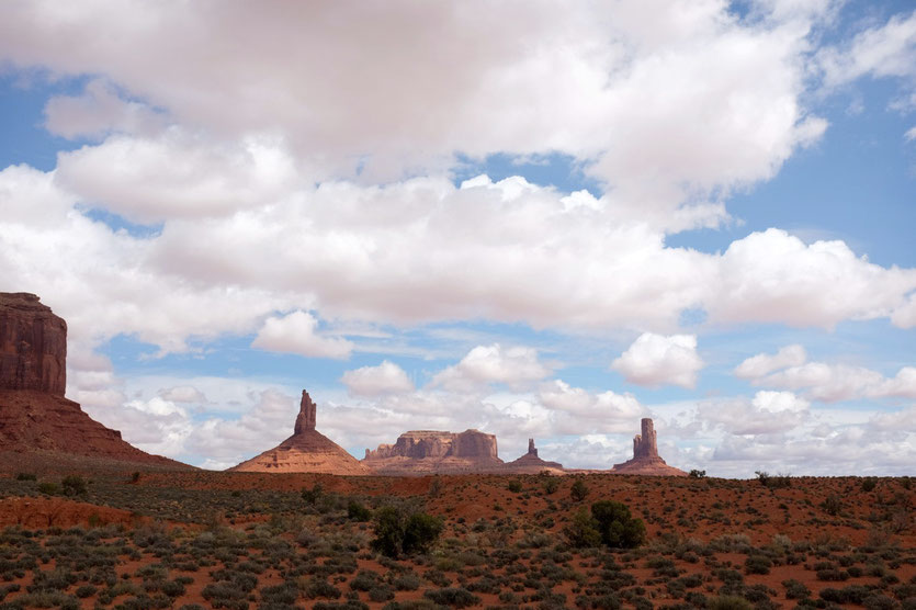 Monument Valley trail Wanderweg
