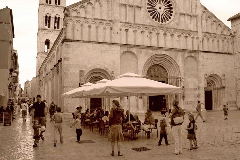 Zadar Altstadt Tipps Kroatien schönste Städte