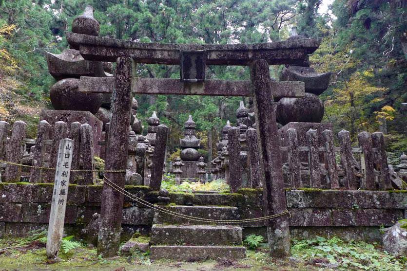 Japan Koyasan mystischer Waldfriedhof Okunoin