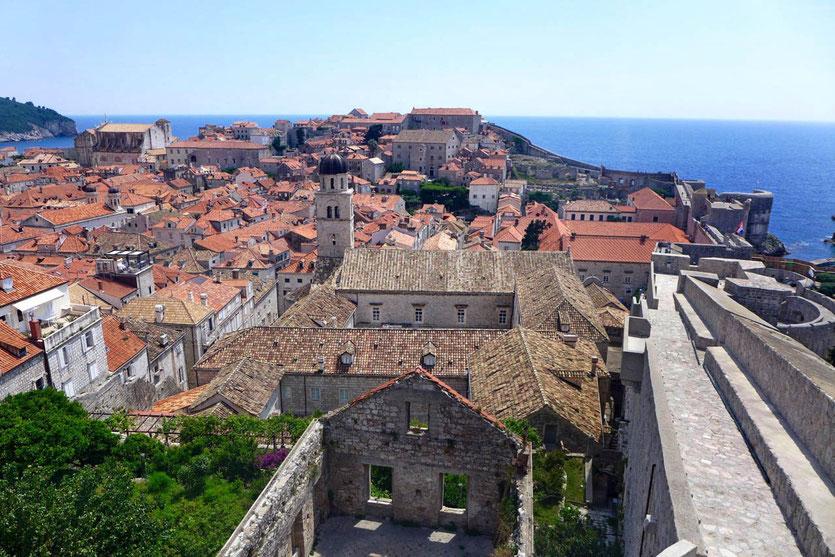 Dubrovnik wall tour Stadtmauer Ticket Tipps Sehenswürdigkeiten Highlights