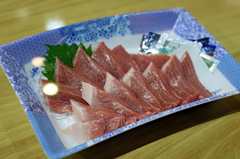 Tuna Sashimi Tore-tore Seafood Market Shirahama Wakayama