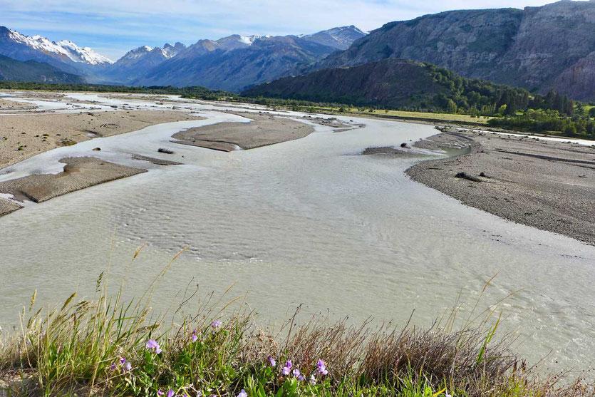 Flusstal Rio de las Vueltas El Chalten