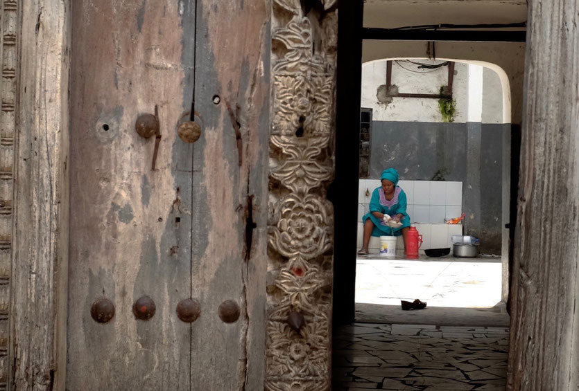Swahili Doors in Stone Town