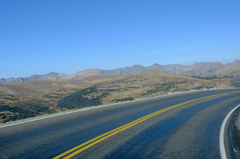 Trail Ridge Road 3.700m  Rocky Mountain Nationalpark