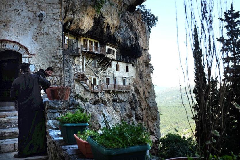 Klosters Prodromou Peloponnes