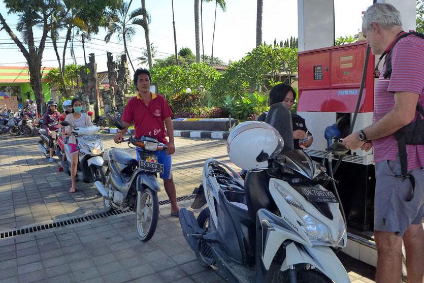 Motorroller leihen mieten Ubud