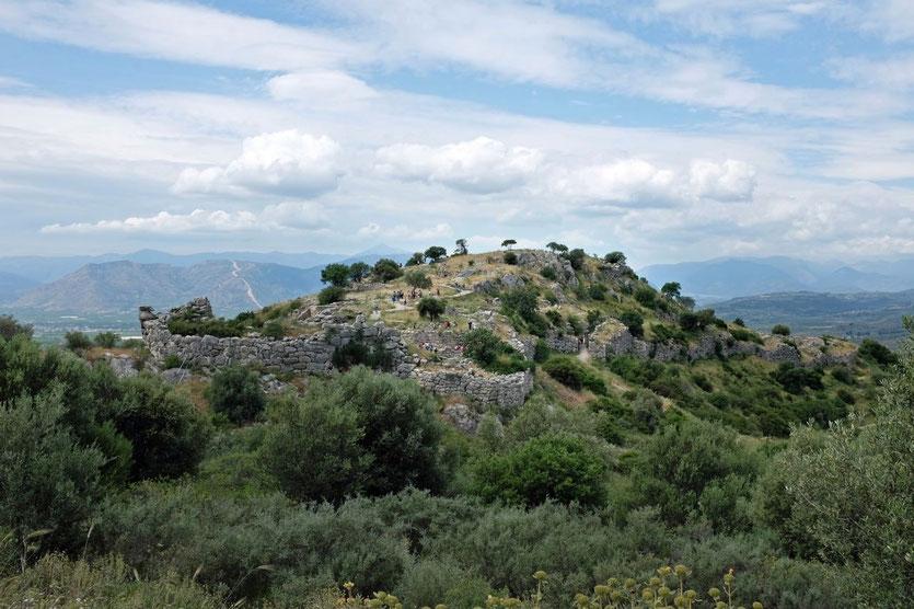 antike Burgstadt Mykene, Peloponnes