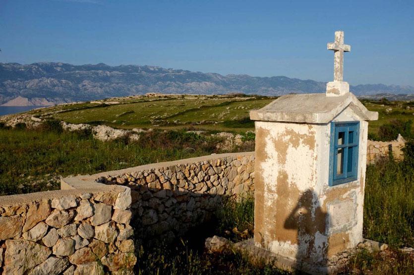 Urlaub Landschaft  Insel Pag Kroatien Insider Tipps