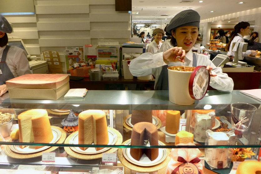 ISETAN best food hall court department store Tokyo Shinjuku