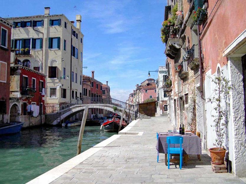 Cannaregio Viertel Canale Venedig