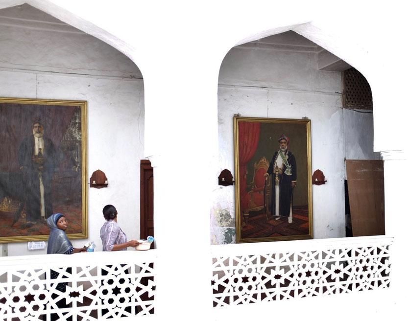 Sultan Palace Museum Stone Town Zanzibar