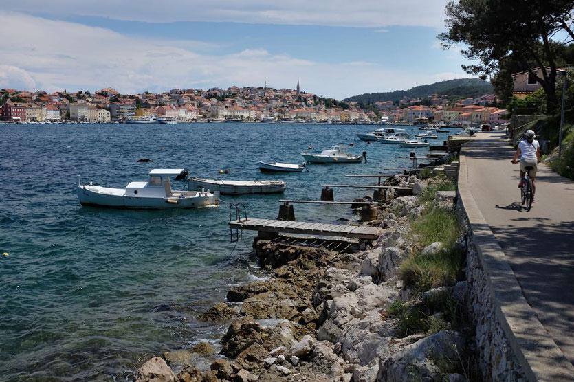 Hotel Restaurant Tipps Mali Losinj Kroatien Hafenstadt